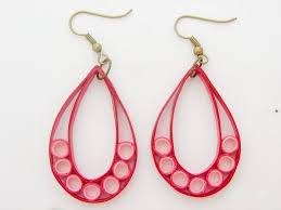 quilling earrings images beautiful easy paper quilling jewellery designs images