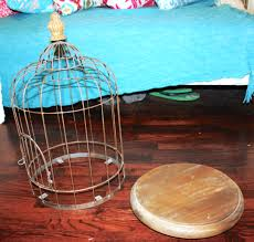 Diy Birdcage Chandelier Diy Birdcage Chandelier Creative Sides
