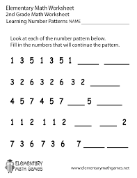 16 best images of second grade number patterns worksheets number