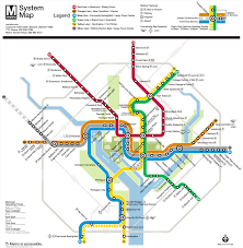 Virginia Map With Cities Washington D C Subway Map Rand
