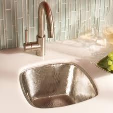 Hammered Copper Sink Reviews by Sinks Hammered Nickel Kitchen Sink Luxury Kitchen Copper Sinks