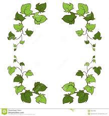 ivy vector hand drawn frame stock illustration image 38997895