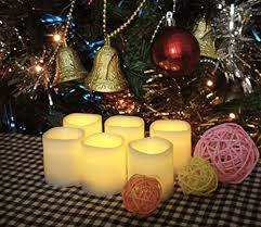 Small Battery Operated Led Lights Battery Operated Candles U2013 6 Unscented Small Flameless Candles