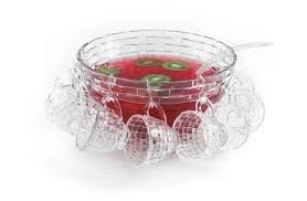 punch bowl brilliant 18 weave punch bowl set for 8 walmart canada