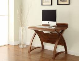 Small Executive Desks Small Office Desk Curve Walnut Pc603 900 Intended For 0