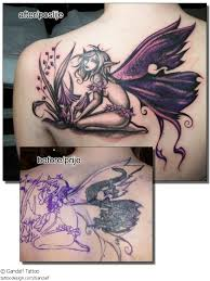 28 cool fantasy fairy tattoos