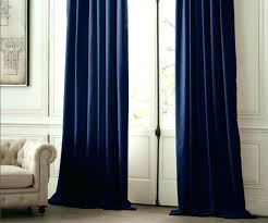 Blackout Navy Curtains Blue Curtains Navy With White Woodio