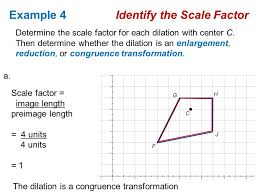dilations or a congruence transformation ppt download