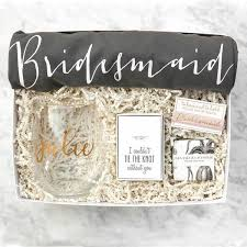 asking bridesmaid ideas bridesmaid gift box no 3 bridal party gifts bridesmaid gift