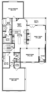 two story single family house plans