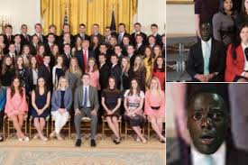 Group Photo Meme - white house intern group photo sparks searing get out meme