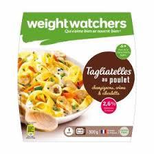 plat cuisiné weight watchers plat cuisiné tagliatelles poulet weight watchers