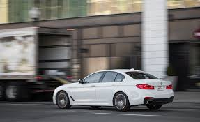 bmw 5 series mileage 2017 bmw 5 series in depth model review car and driver