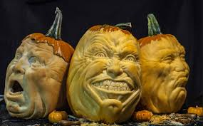 this artist makes some of the best halloween pumpkin carvings
