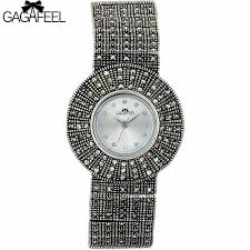 ladies silver bracelet watches images 100 925 sterling silver quartz watch lady luxury thail silver jpg