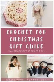 crochet for christmas gift guide sigoni macaroni