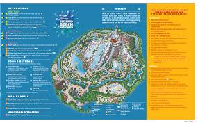 Disney World Map Magic Kingdom by Disney U0027s Blizzard Beach Water Park Map
