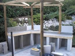 cuisine d ete en beton cellulaire 07 lzzy co