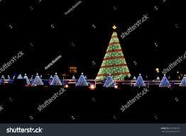 illuminated tree lights 50 stock photo 518199259