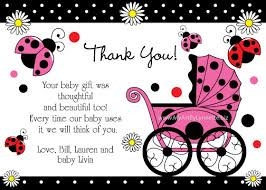 thank you cards baby shower thank you cards with a photo