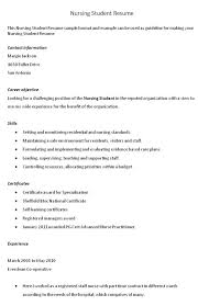 Nursing Resume Objective Statement Examples by Resume Objective Examples Nursing Student Resume Ixiplay Free