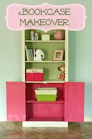 Bookshelf Makeover Ideas Huckleberry Love Bookcase Makeover