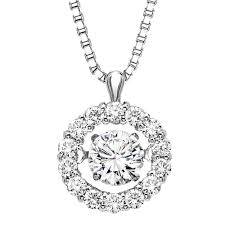 floating diamonds necklace images Floating circle diamond pendant 50 ctw alexis diamond jpg