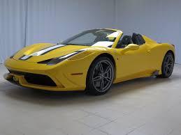 yellow maserati 2015 ferrari 458 speciale aperta ferrari maserati of atlanta