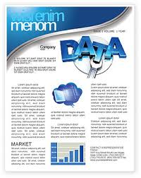 data safety newsletter template for microsoft word u0026 adobe