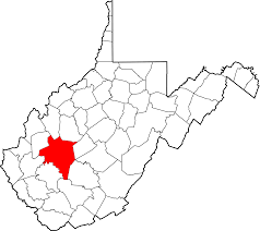 Virginia Blank Map by File Map Of West Virginia Highlighting Kanawha County Svg