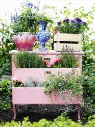 19 inspirational ideas for recycled planters and hanging baskets