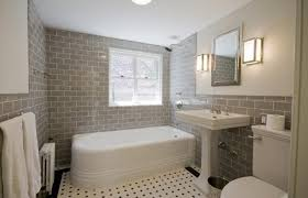 tiled bathroom ideas pictures subway tiles in 20 contemporary bathroom design ideas rilane