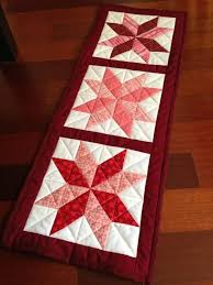 25 unique quilted table runners ideas on table