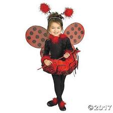 Toddler Girls Halloween Costume Mc1965sm Lady Bug Halloween Costume Toddler Girls Small