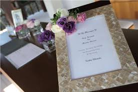 bridal registration registration table decoration by tirtha bridal uluwatu bali