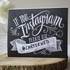 wedding instagram wedding instagram hashtag print wedding hashtag sign and