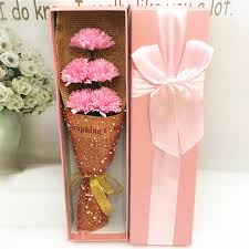 s day flowers gifts s day gift carnation flower bouquet soap flower gift box for