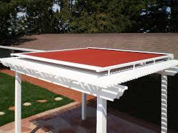 Pergola With Shade by Retractable Pergola Covers Ers Shading San Jose Ca