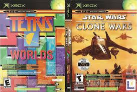 wars the clone wars tetris worlds original xbox video game