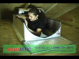attic access door smartattic youtube