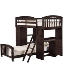 don u0027t miss this deal asher twin size student loft bed chocolate