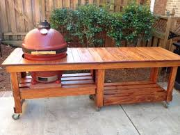 kamado joe grill table plans big joe table plans kamado joe kamado guru