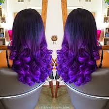 mermaid hair extensions black to green mermaid colorful ombre indian remy clip in hair
