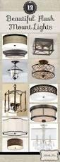 kitchen lighting light fixtures flush mount abstract antique brass