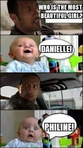 Beautiful Girl Meme - meme maker who is the most beautiful girl danielle philine