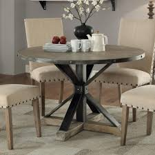 Coaster Dining Room Furniture Coaster Tobin Industrial Round Dining Table Coaster Fine Furniture