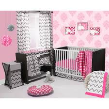 Bright Pink Crib Bedding by Baby Crib Bedding Sets