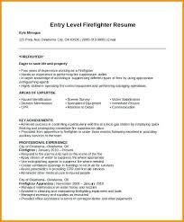 firefighter resume templates firefighter resume objective foodcity me