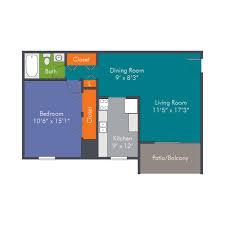 1 bedroom floor plans apartment homes in roanoke va