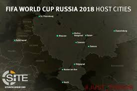 russia world cup cities map pro is telegram channel distributes map of host cities for 2018